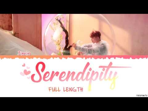 [Full Length Edition] BTS  JIMIN - SERENDIPITY (세렌디피티) Lyrics [Color Coded Han_Rom_Eng]
