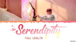[Full Length Edition] BTS  JIMIN - SERENDIPITY Lyrics [Color Coded Han_Rom_Eng]
