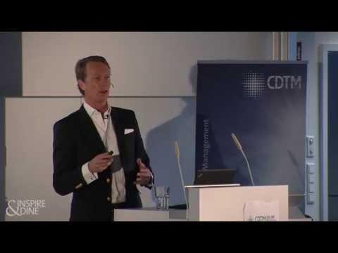 Dr. Hendrik Brandis: The European Venture Capital Industry (Inspire&Dine @CDTM)