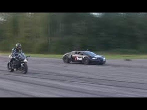 Kawasaki Ninja H2r vs Bugatti Veyron       Lamborghini Aventador vs F16