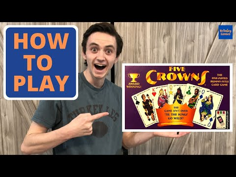 How To Play Five Crowns Card Game | Brimley Games