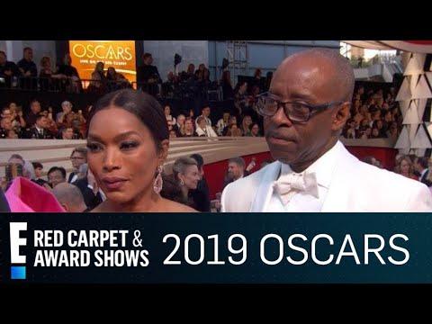 Angela Bassett & Courtney B. Vance Couple Up at 2019 Oscars | E! Red Carpet & Award Shows