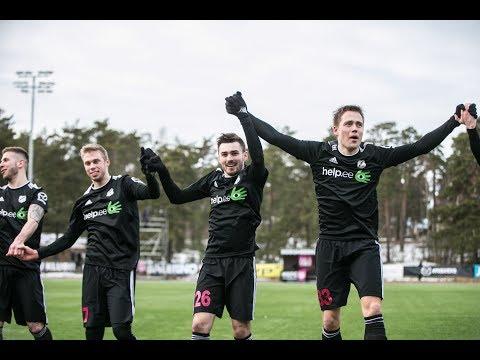 5. voor 2018: Nõmme Kalju FC - Tartu JK Tammeka  1:0 (0:0)