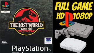 The Lost World: Jurassic Park 100% ALL DNA COLLECTED Gameplay Walkthrough (PS1) NO COMMENTARY