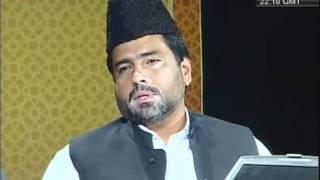 Why did the Promised Messiah (as) appear in a Hindu country-persented by khalid Qadiani.flv