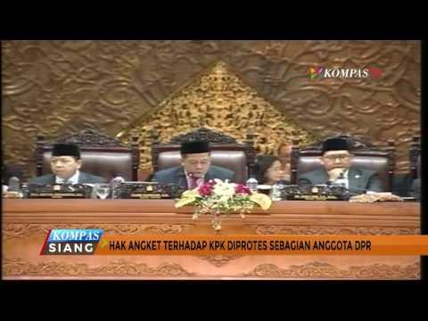 Hak Angket KPK Disahkan, Sejumlah Anggota DPR Walk-Out