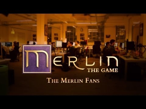 Behind the Scenes - Merlin: The Game - The Merlin Fans - featuring Colin Morgan