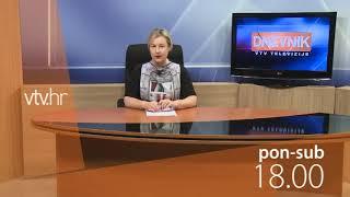 VTV Dnevnik najava 08. srpnja 2019.