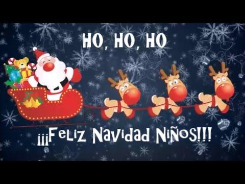 Felicitaciones De Navidad Para Infantil.Video De Navidad Para Ninos Felicitacion De Navidad Feliz Navidad Ninos