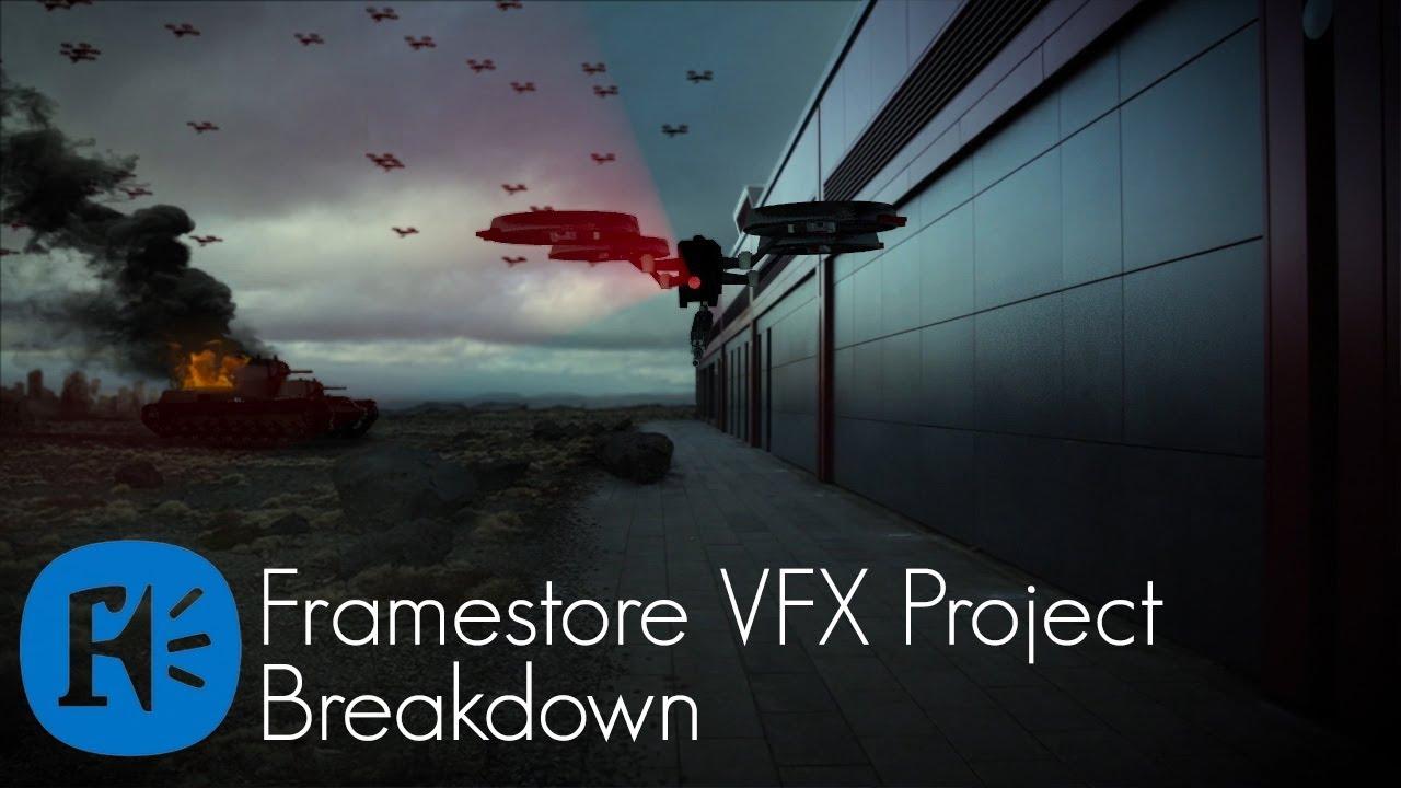 Framestore VFX Dystopia Breakdown