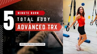 5 Min Total Body TRX Workout
