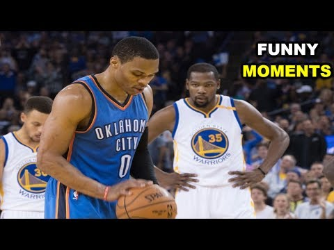 Thumbnail: Russell Westbrook and Kevin Durant FUNNY MOMENTS 2017