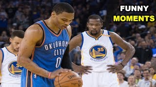 Russell Westbrook and Kevin Durant FUNNY MOMENTS 2017