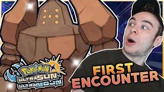 1ST ENCOUNTER SHINY REGIROCK! INSANE REACTION! Pokemon Ultra Sun And Ultra Moon Shiny Reaction!