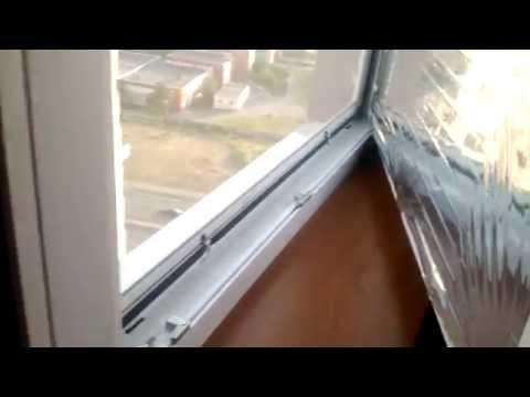 Как поклеить солнцезащитную пленку на пластиковое окно - инструкция от СК Комфорт