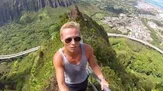 Illegal 4,000 Step Stairs To Heaven In Hawaii!