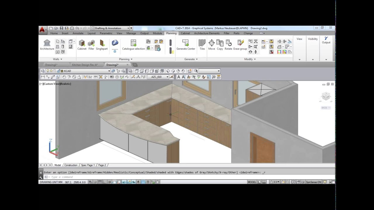 cadt design planning nesting project management cad