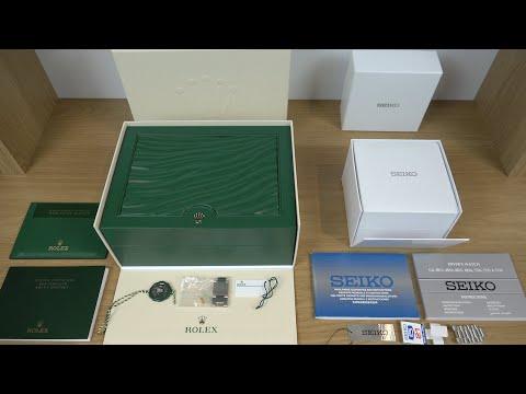 £10,000 Rolex Vs £198 Seiko