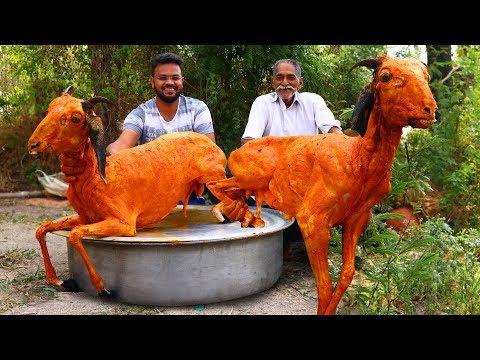 EID SPECIAL BIRYANI RECIPE | Ramadan Special Full Goats Biryani By Our Grandpa