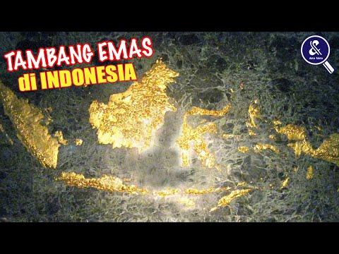 Bersiaplah, Bukan Hanya Papua.! 7 Daerah Yang Memiliki Kandungan Emas Di Indonesia