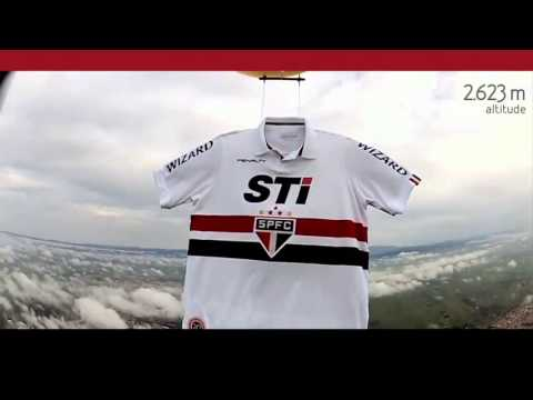 Camisa Do São Paulo Da Penalty Vai Para o Espaço !