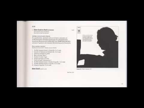 Glenn Gould on Bach (in German)