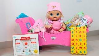 Baby Alive Abrindo as Comprinhas da Clarabela com BIA LOBO