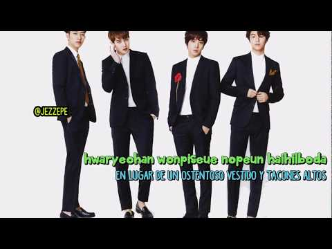 CNBLUE -  Lady (Korean Ver.) [sub Español + Lyrics + Roman]