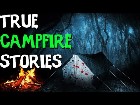 10 TRUE Scary Campfire & Camping Stories From Reddit (2017)!