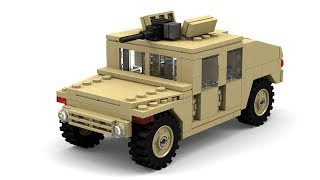 Lego Modern Warfare Humvee Instructions