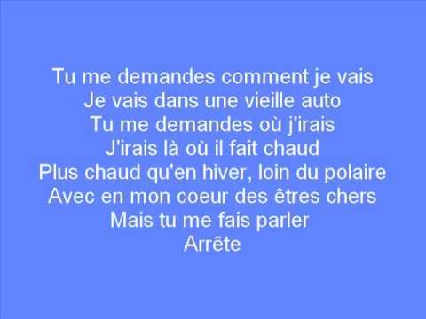 Daniel Bélanger - Rêver mieux (Lyrics)