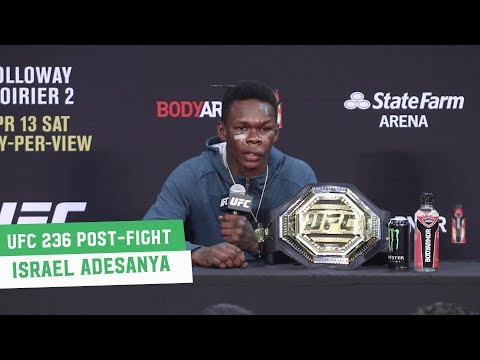 UFC 236 Post-Fight Press Conference: Israel Adesanya