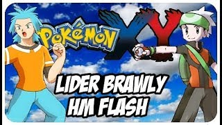 POKEMON X AND Y GBA ROM HACK WALKTHROUGH EPISODE 4 HM FLASH E LIDER BRAWLY