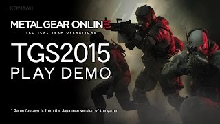 MGS 5 The Phantom Pain - Online Gameplay Demo (TGS 2015)   Official Metal Gear Game (2015)