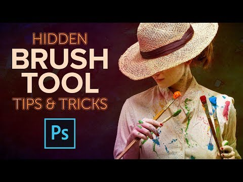 HIDDEN Tricks For Photoshop Brushes And Brush Tools