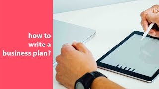 видео How to prepare a Business plan? Use the template