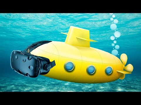 Silent But Deadly! - VR Submarine Simulator Multiplayer - IronWolf VR Gameplay - HTC Vive VR