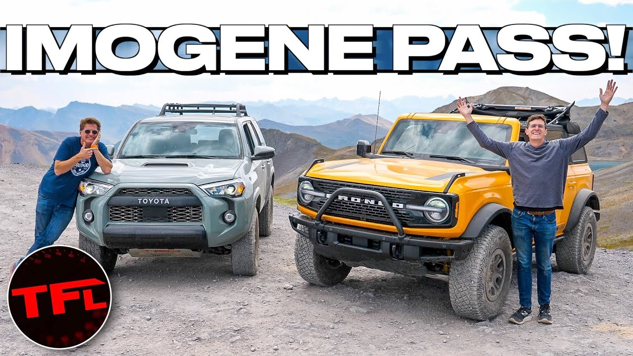 The Toyota 4Runner TRD Pro May Be Old, But Can It Still Keep Up With The Ford Bronco Up A Mountain?