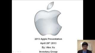 Most Underestimated Tech Stock 2013 & 2014: Apple Inc (AAPL) Stock Analysis Part 2