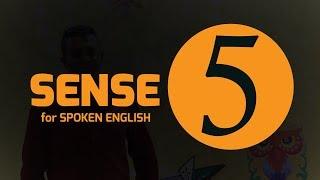 Spoken English Learning Video Series : SENSE 5 || সহজে SPOKEN শিখুন