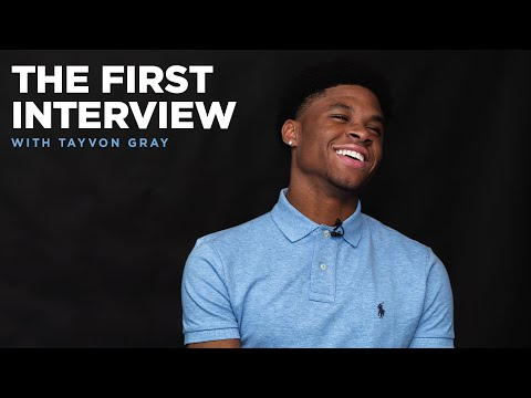 Tayvon Gray Signs Homegrown Contract   THE FIRST INTERVIEW