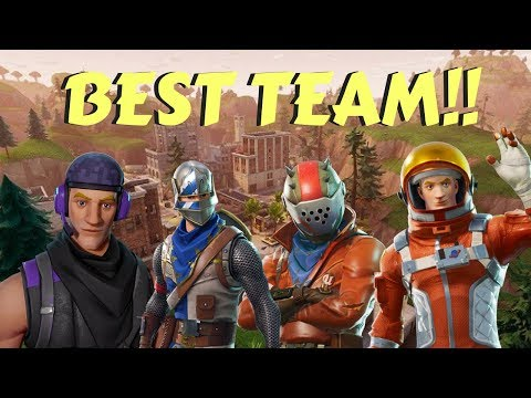 THIS TEAM CAN'T LOSE!!!(Fortnite Battle Royale Squads Gameplay)