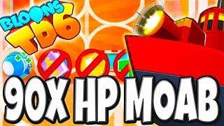 90x HP MOAB !!!  | #143 | Bloons TD6 PL HD