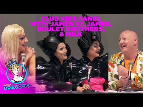 Club Kid Panel w/ James St. James, Milk and Boulet Brothers at RuPaul's DragCon 2015