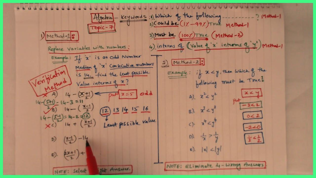 SAT ACT SAT-2 Math Online Classes - SAT/ACT Math Test Explanations