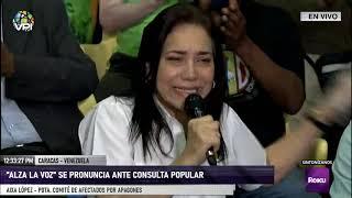 """Comandos """"Venezuela Alza la Voz"""" invitan a participar en la Consulta Popular - Caracas - VPItv"""
