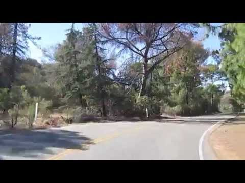Driving the Santa Monica Mountains on Mulholland Hwy (Part 3 - Entering Malibu) - November 2014