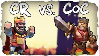 Clash of Clans vs. Clash Royale!   CLASH OF CLANS #053   König Level 9! (Deutsch / German)