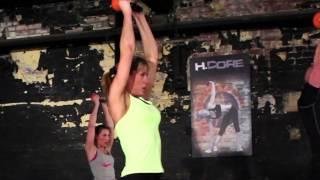 H.Core Kettlercise the worlds No1 Kettlebell Fitness Program