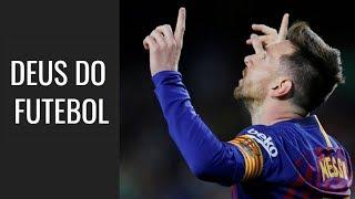 Mais dois shows de bola em quatro dias. Messi se candidata a Deus do futebol